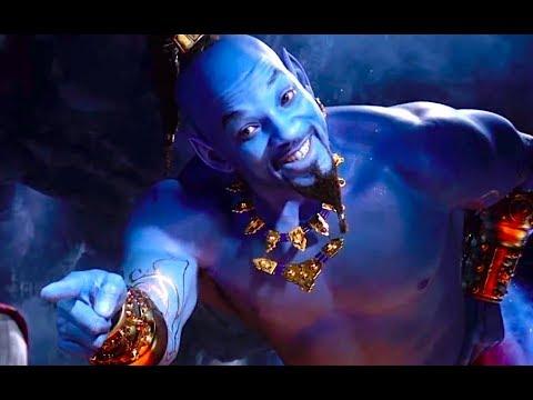 A Friend Like Me Sang By Will Smith - Aladdin Movie - Will Smith Disney Family Movie HD