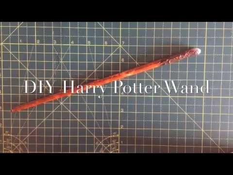 DIY Paper Harry Potter Wand