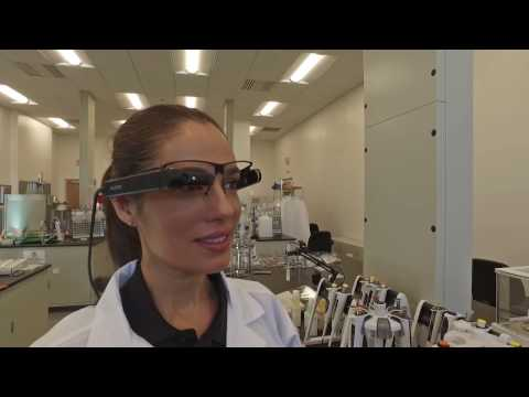 Vuzix M300 - Pharmaceutical/Biotech Industrial Augmented Reality for Manufacturing and R&D