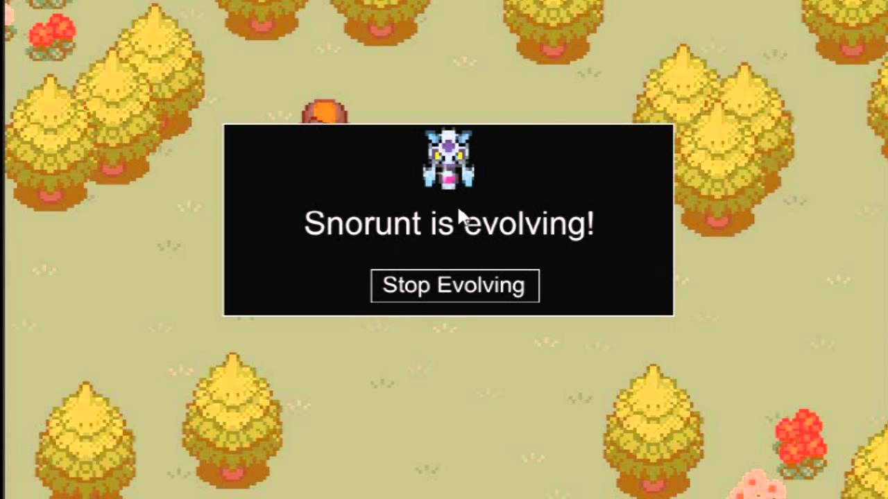 Ptd 2 How To Evolve Snorunt Into Froslass Youtube