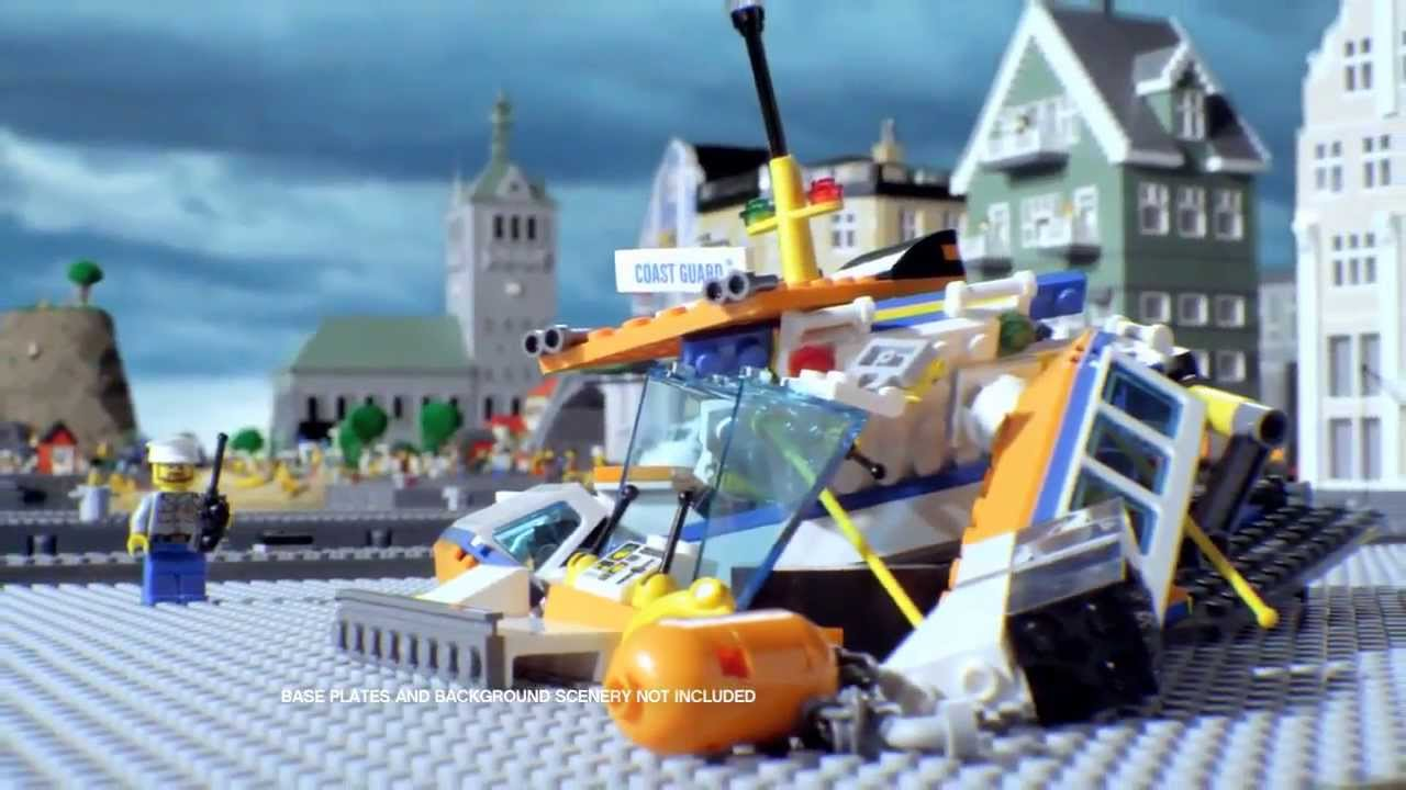 Lego City Лего Город Патруль береговой охраны 60014 и Coast Guard .
