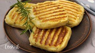 Potato sandwiches: always a super hit among kids!