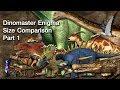 [ Size Comparison ] Dinosaurs in Dinomaster Enigma Part 1