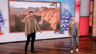 Josh Duhamel & Ellen Hand Out Relaxing & Restoring Gifts for Day 3 of 12 Days