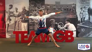 20 minutes of yoga with Leon Taylor | I Am Team GB