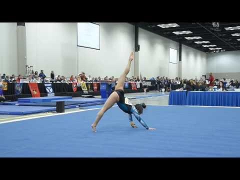 Floor 2017 J.O. Nationals  Amy Stewart 2019