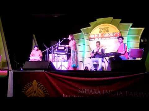 """Sohag Chand Badani Dhani"",  performed by Sukanya at C.R.Park, New Delhi during Puja, 2016"