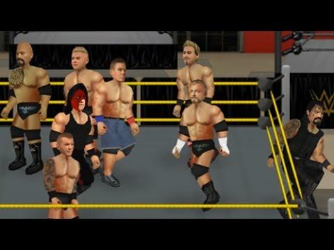 WR2D Battle Royal Performance Center [WWE REALISTIC MOD]