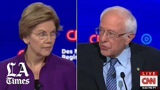 Sanders denies telling Warren he did not believe a woman could win the presidency