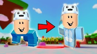ROBLOX: DAS GIANT BABY LEARNED TO WALK! -Play Old man