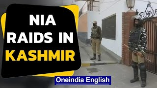 Kashmir: NIA raids against 'NGOs funding separatist activity' | Oneindia News