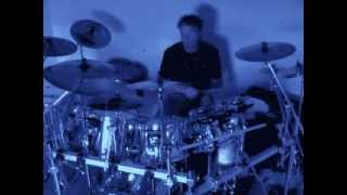 Robert Plant - Moonlight in Samosa - drums cover by Kris Kaczor.wmv