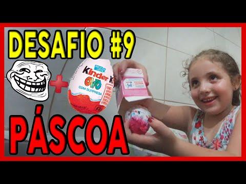 TROLLANDO MINHA FILHA COM KINDER OVO FALSO! - DESAFIO #9