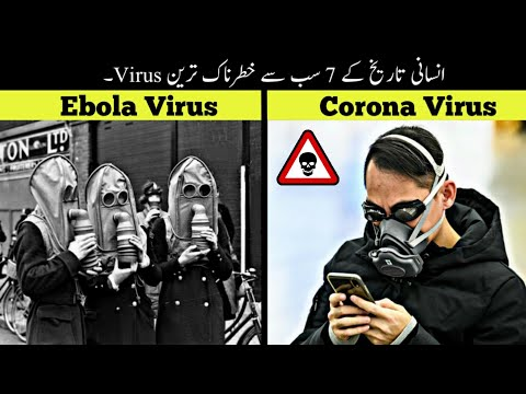 7 Most Dangerous Viruses In Human History | انسانی تاریخ کے خطرناک ترین وائرس | Haider Tv