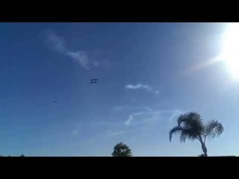 Blue Angels flyby - Miramar San Diego