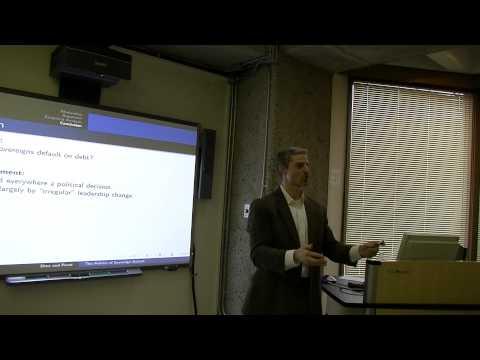 CIPSS Speaker Series: Paul Poast - The Politics of Default