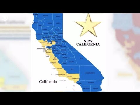 """Founders of """"New California"""" declare independence from the Golden State"""