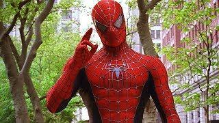 Spider-Man Pizza Time Scene - Spider-Man 2 (2004) Movie Clip HD