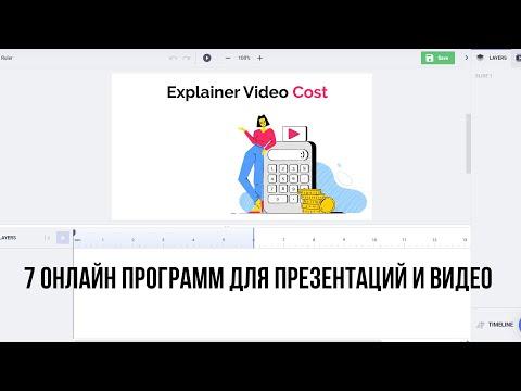 7 онлайн программ для презентаций, видеопрезентаций, эксплейнеры, инфографика