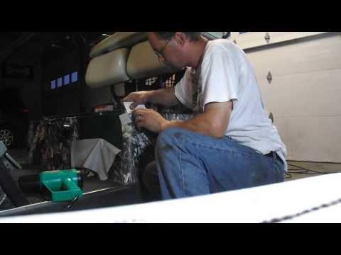 Kustum Kreations Camo Wrap Golf Cart