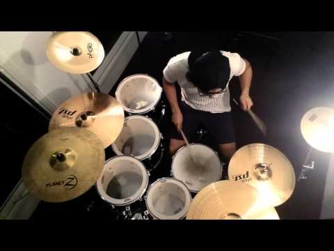 Planetshakers - Let's Go // Drum cover by Jonathan Aye
