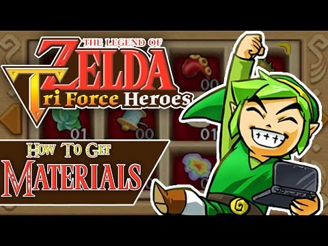 Tri Force Heroes - How To Get Materials EASY! [Tips and Tricks]