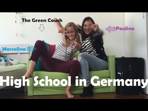 High School in Germany - The Green Couch