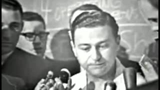 November 24, 1963 - Dr. Tom Shires, chief of surgery, announces Lee Harvey Oswald dead