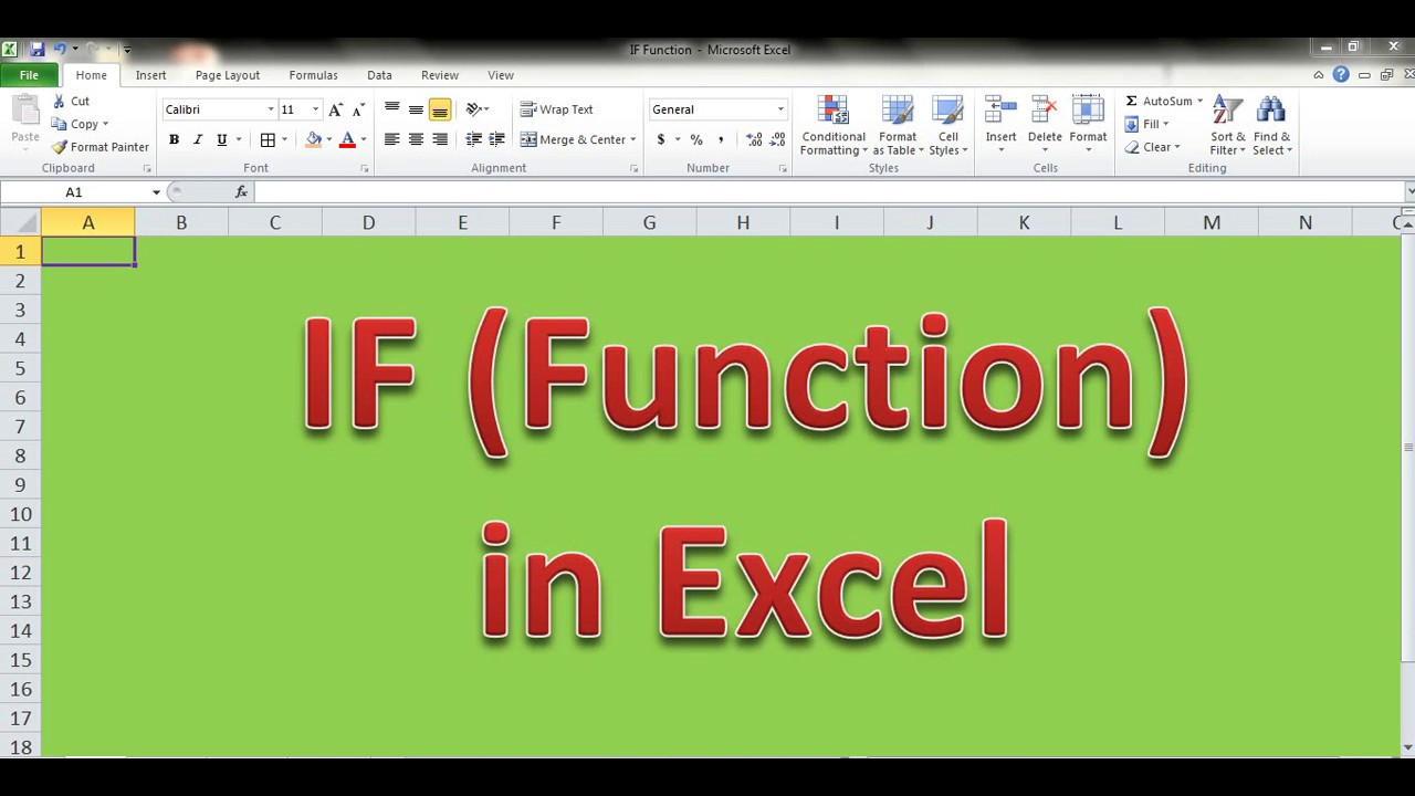 IF Function In Excel (Single And Multiple Conditions Check