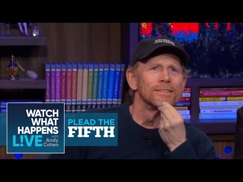 Ron Howard Finds Tom Hanks' Imitations of Him Annoying  Plead the Fifth  WWHL