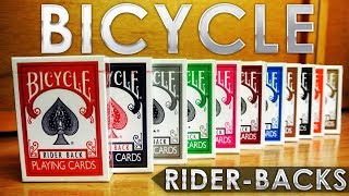 Deck Review - Bicycle Rider Back By The Us Playing Card Company