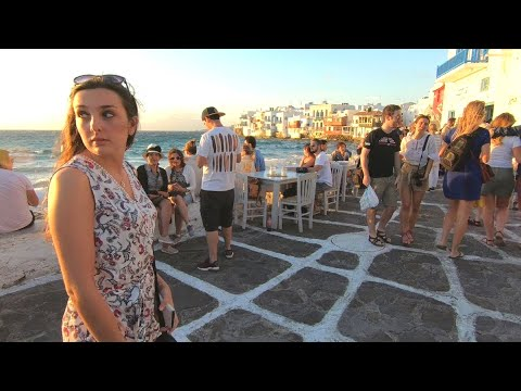 Exploring Beautiful Mykonos Town On The Greek Islands