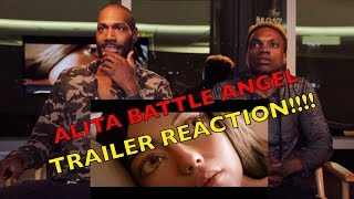 Alita: Battle Angel | Official Trailer REACTION!!