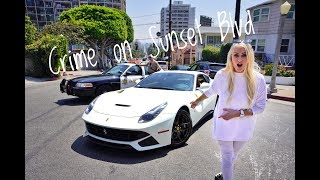Crashing a Mansion & Crime Scene | Ferrari F12