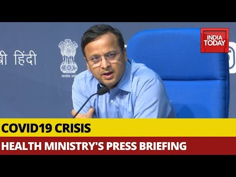 Health Ministry's Press Briefing On Tackling Covid19 Crisis In India | Watch FULL