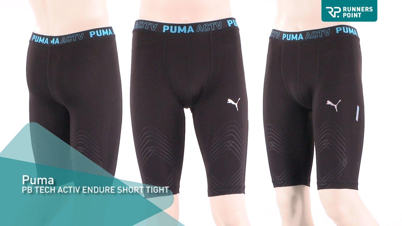 4012d46373dc Puma PB Tech Activ Endure Short Tight - YouTube