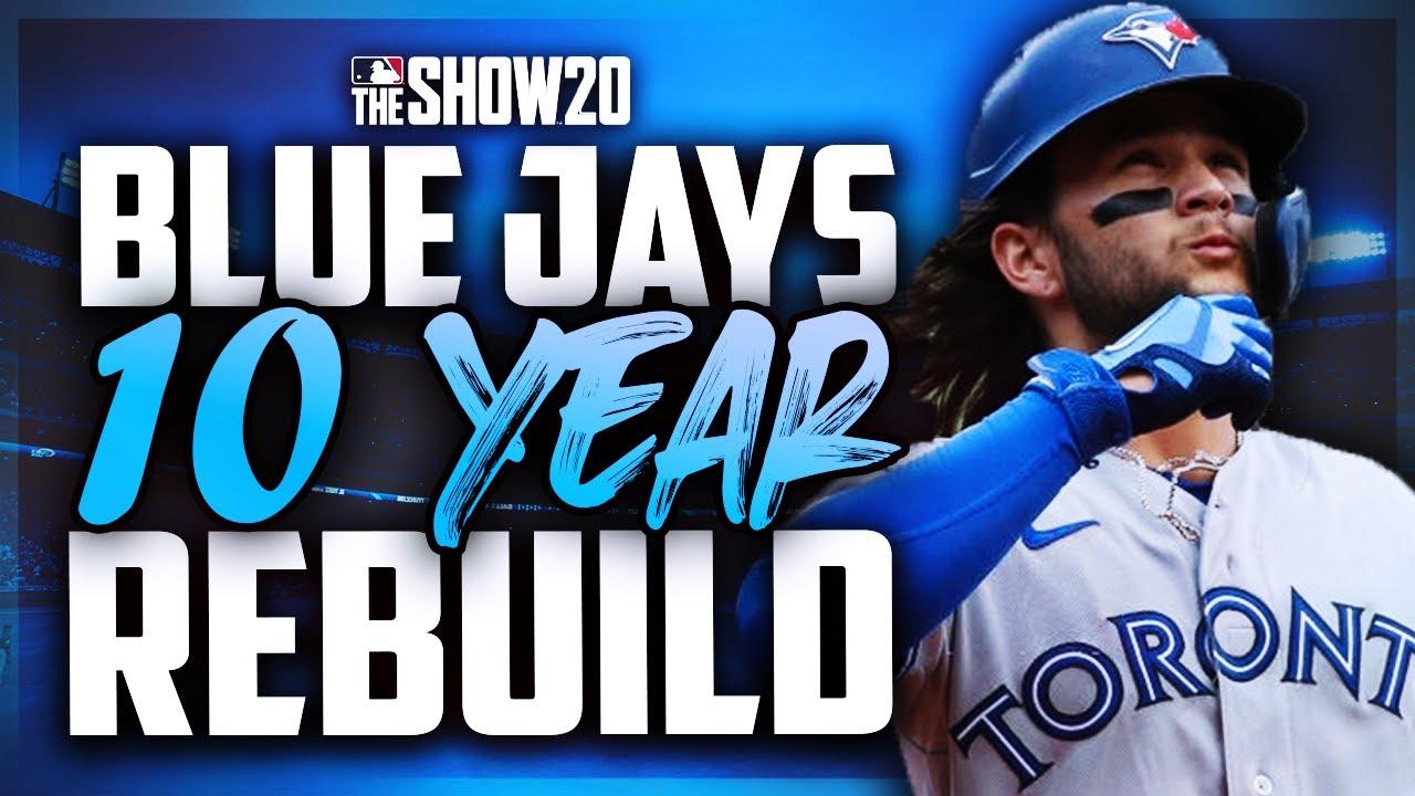 10 Year Rebuild of the Toronto Blue Jays | MLB the Show 20 Franchise