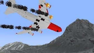 Самолет - Minecraft фильм ужасов