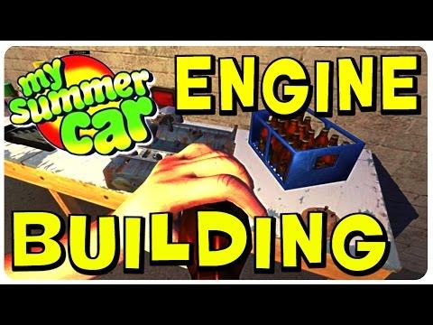 My Summer Car - Engine Building Walkthrough (Part 2) - Tutorial Gameplay - 동영상