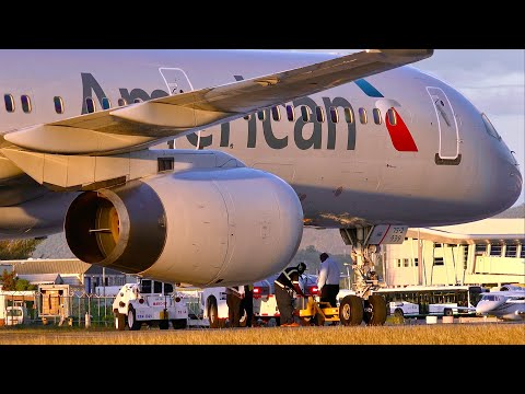 AA 757 Accident at Sint Maarten Runway - UHD 4K