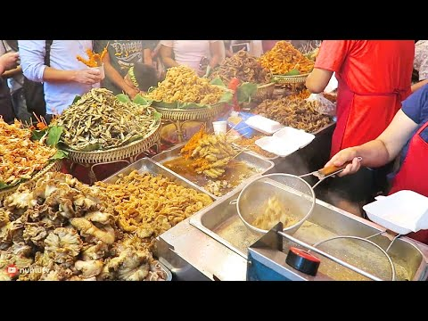 Philippines Street Food in Manila Chinatown Walk | MASSIVE Street Food in Binondo, Manila!