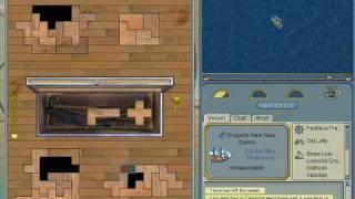 YoHoHo Puzzle Pirates carpentry gameplay