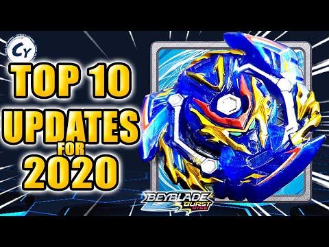 TOP 10 UPDATES QUE O BEYBLADE BURST APP PRECISA EM 2020