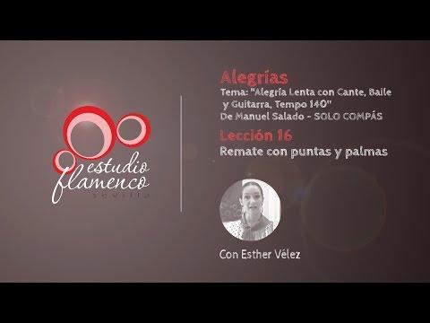 Curso Flamenco Online - 2.5 ALEGRÍAS - Solo Compás #16
