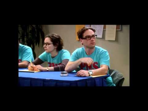 TBBT - The Big Bang Theory - Sheldon weiss die Antwort nicht