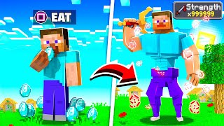 Minecraft BUT You Can EAT Every BLOCK!