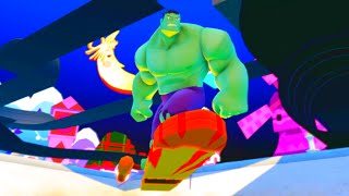 Disney Infinity 2 0 Showcase Jim Hawkins Solar Board Ability Power Disc W HULK Free Roam Gameplay