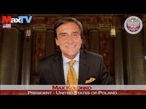 Max Kolonko -Nakaz aresztowania b. Min Zdrowia- komunikat w trakcie #R US CONVENTION (z MaxTVGO.com)