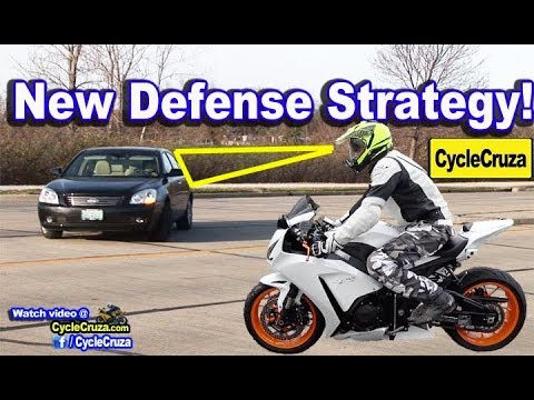 My New Motorcycle Defensive Strategy to Stay Safe | MotoVlog