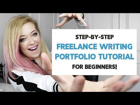 Freelance Writing PORTFOLIO Website: BEGINNER Guide for a CLIENT-WINNING PORTFOLIO!